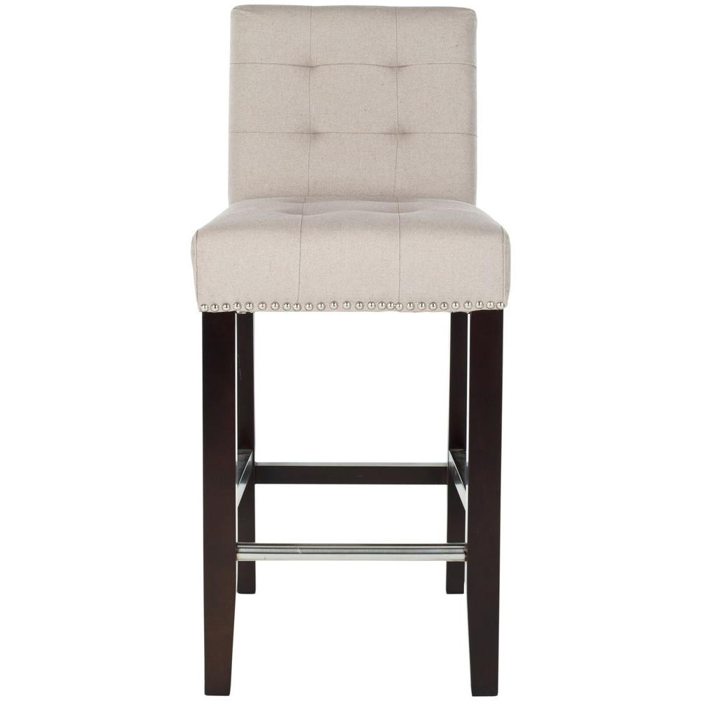 Soothing Taupe Cushioned Bar Stool Safavieh Thompson Taupe Cushioned Bar 36 Inch Bar Stools Ikea 36 Inch Bar Stool Set houzz-03 36 Inch Bar Stools