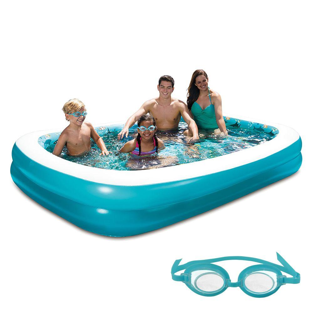 Artistic Inflatable Rectangular Family X Intex Swim Center Family Home Depot Intex Swim Center Family Lounge Walmart Canada Intex Swim Center Family Lounge Toys R Us houzz-03 Intex Swim Center Family Lounge Pool