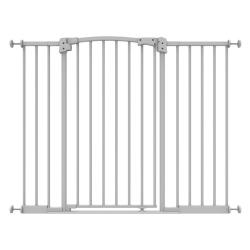 Small Crop Of Pressure Mounted Baby Gate
