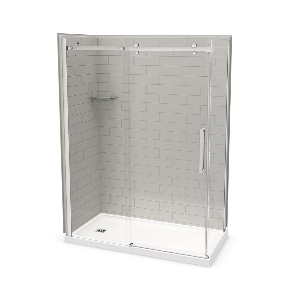 Modish Utile Metro X X Left Maax Shower Stalls Kits Showers Home Depot Aker By Maax Martinsburg Wv Aker By Maax Shower Doors houzz-03 Aker By Maax