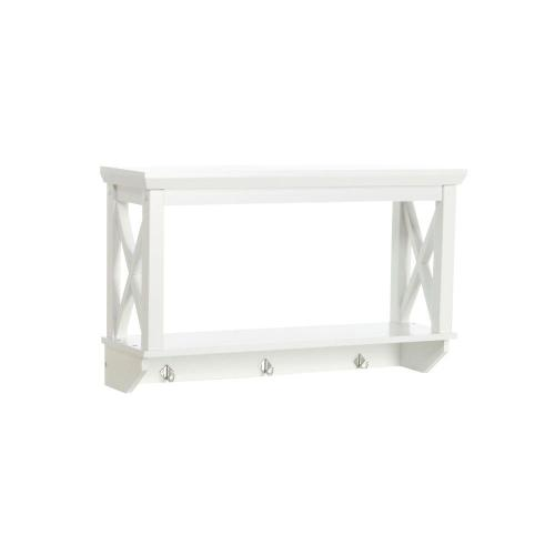Medium Crop Of White Bathroom Wall Shelf