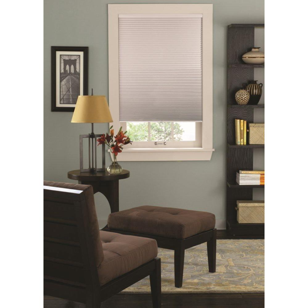Elegant This Review Is Dove Cordless Blackout Cellular Shade W X L Size Is W X Bali Dove Cordless Blackout Cellular Bali Cellular Shades Hardware Bali Cellular Shades R Value houzz-03 Bali Cellular Shades