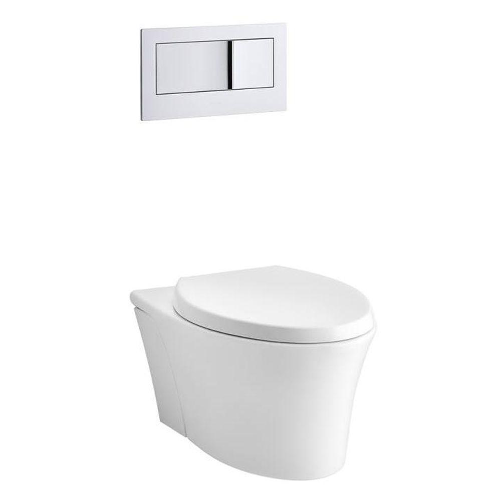 Captivating Kohler Veil Elongated Toilet Seat Included Kohler Veil Elongated Toilet Seat Included Wall Mounted Toilet Toto Wall Mounted Toilet Bracket houzz-03 Wall Mount Toilet