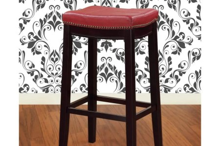 red linon home decor bar stools 55815red01u 64 1000