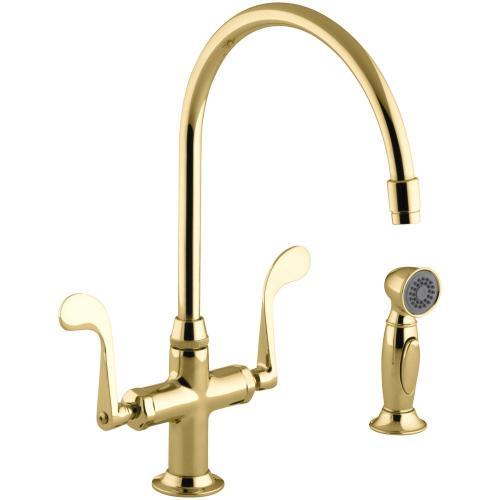 Medium Crop Of Brass Kitchen Faucet