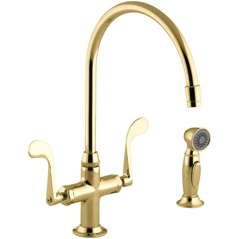 Large Of Brass Kitchen Faucet