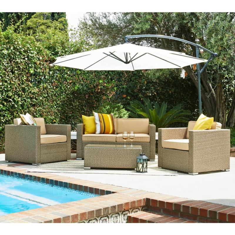 Large Of Resin Wicker Patio Furniture