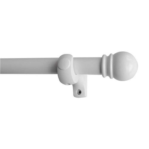 Medium Crop Of White Curtain Rod