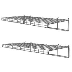 Small Crop Of Wall Mounted Wire Shelving