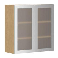 Small Crop Of Kitchen Cabinets With Glass Doors