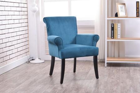 blue linon home decor accent chairs 36261dblu01u 64 1000
