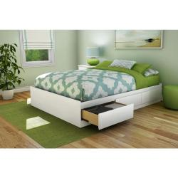 Small Crop Of Bed Without Headboard