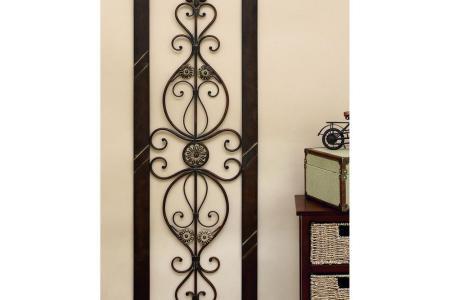 brown rust dimensional wall art 96553 64 1000