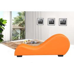 Small Crop Of Leather Chaise Lounge