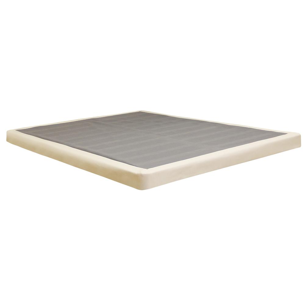 Divine Platform Bed Instant Foundation Bed Frames Box Springs 123001 5020 64 1000 Thin Box Springs Mattress Thin Box Spring houzz-03 Thin Box Spring