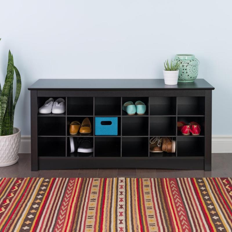 Large Of Bench With Shoe Storage