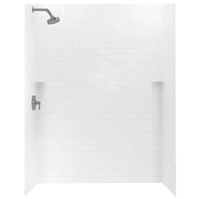 Large Of White Subway Tile Shower