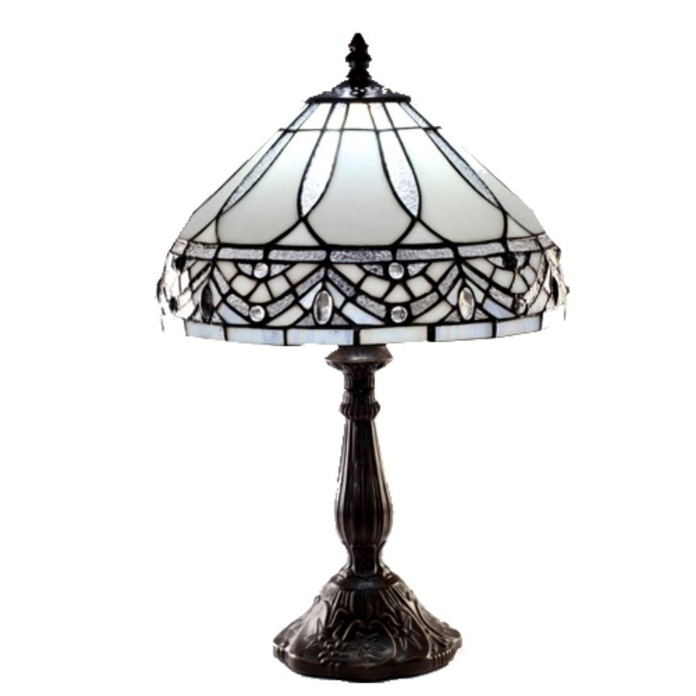 Dining Tiffany Jewels Bronze Stained Glass Table Lamp Warehouse Tiffany Jewels Bronze Stained Glass Table Tiffany Style Lamps Ebay Tiffany Style Lamps Australia Warehouse houzz-02 Tiffany Style Lamps