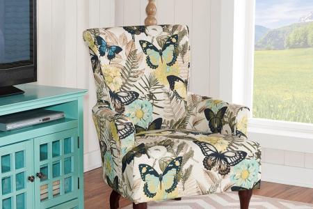 botanical print linon home decor accent chairs 368322jan01u 64 1000