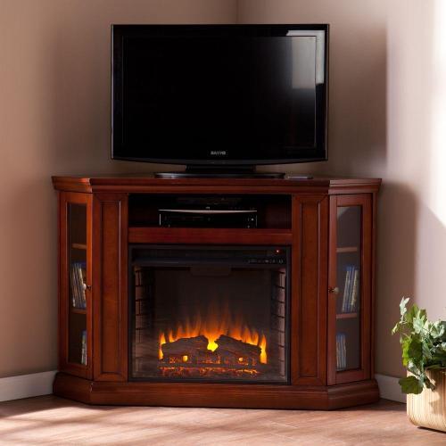 Medium Of Corner Fireplace Tv Stand