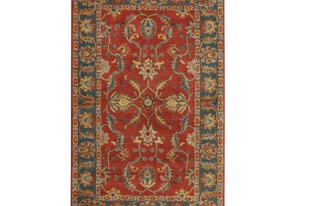 rust red home decorators collection area rugs 0167530110 64 1000