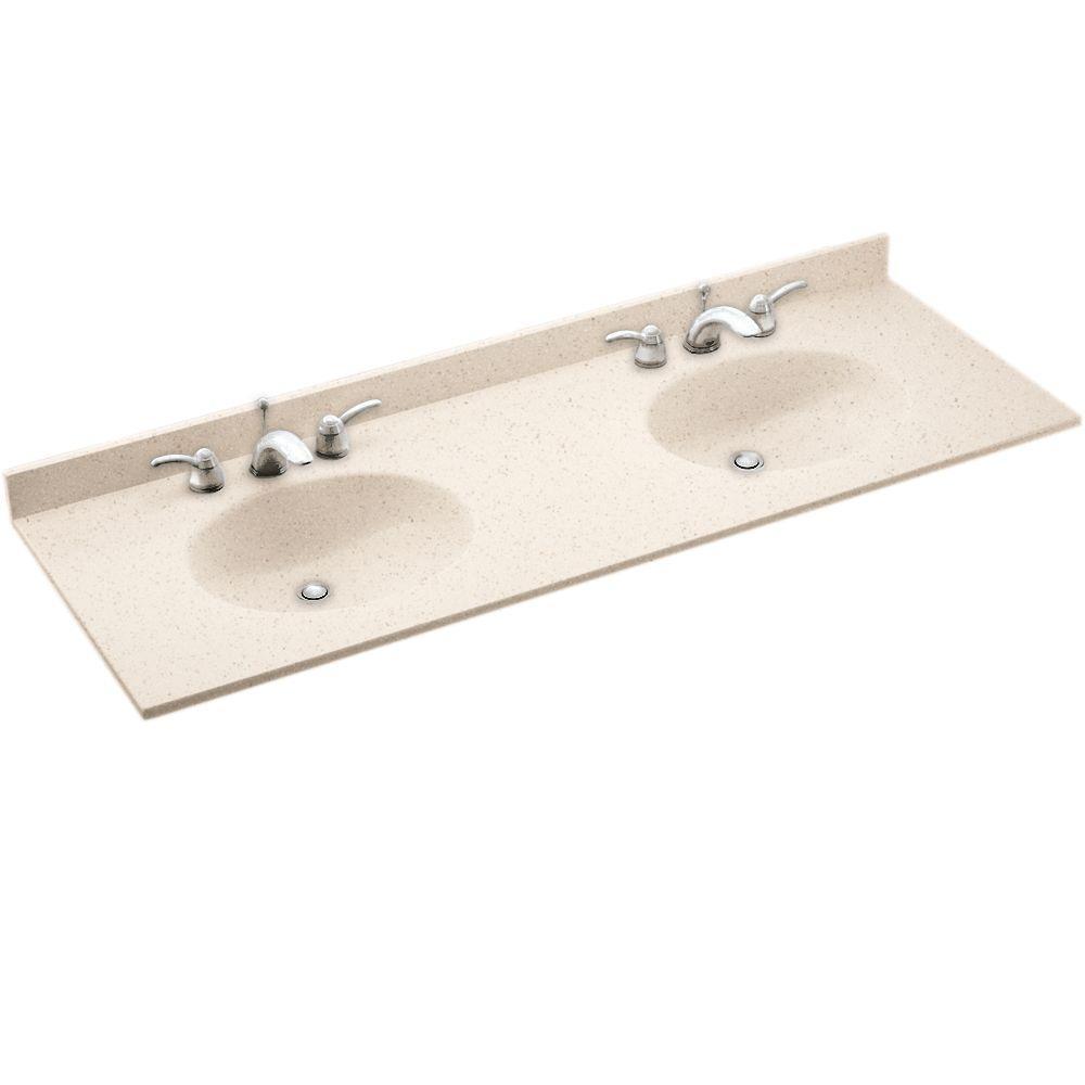 Sterling Bathrooms Sink Vanity S Only D Solid Surface Sink Vanity Swan Ellipse W X D Solid Surface Sink Vanity Sink Vanity S houzz-02 Double Sink Vanity Top