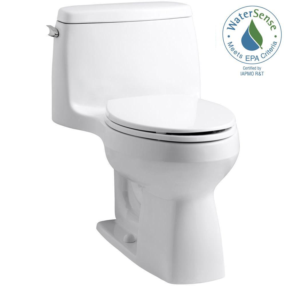 Scenic Kohler One Piece Toilets K 10491 0 64 1000 Toilet Won T Flush All Way How To Fix A Toilet That Won T Flush All Way houzz-03 Toilet Wont Flush All The Way