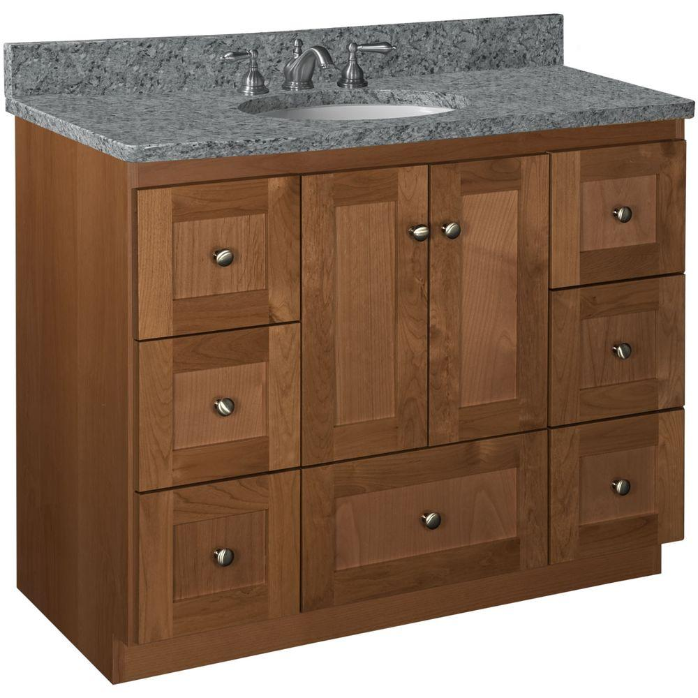 Top Bathroom 42 Inch Vanity Simplicity By Strasser Shaker W X D X H 42 Inch Vanity Simplicity By Strasser Shaker W X D X houzz 01 42 Inch Vanity