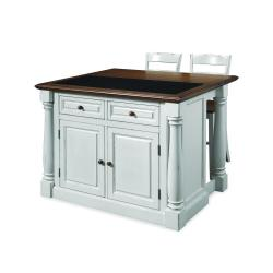 Small Crop Of White Kitchen Island Table