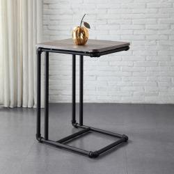 Small Crop Of Black Side Table