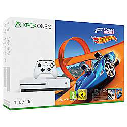 Xbox One S 1TB Forza 3 Hotwheels DLC Console + Call of Duty: WWII + Wolfenstein II: The New Colossus + The Evil Within 2 + Gears of War: Ultimate Edition + Halo 5 Guardians £269 at Tesco