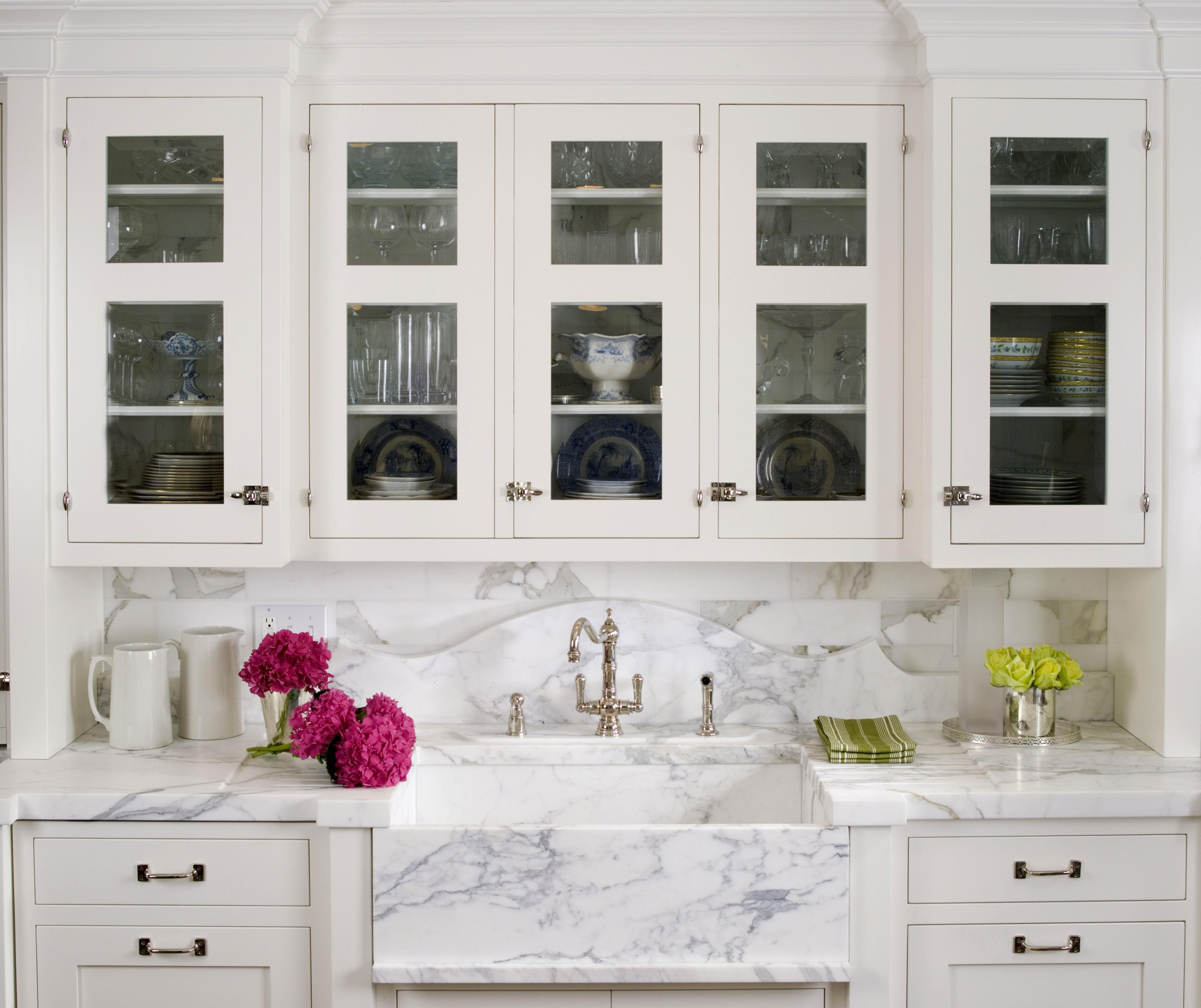tips perfect white kitchen design kitchen white cabinets 03 11 StCharlesWhiteMarbleKitchen