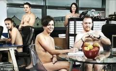 裸體辦公室