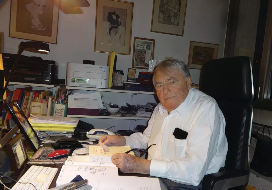Claude Lanzmann does it again   Diaspora   Jerusalem Post CLAUDE LANZMANN