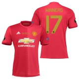 Manchester United Europa League Final Home Shirt 2016-17 with Winners