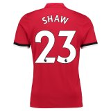 Manchester United Home Shirt 2017-18 Shaw 23