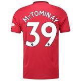 マンチェスター ユナイテッド ホーム シャツ 2019-20 McTominay 39