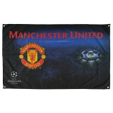 Manchester United Champions League Flag