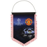 Manchester United Champions League Pennant