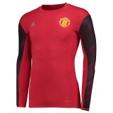 Manchester United Tecfhit Baselayer Top - Red - Long Sleeve