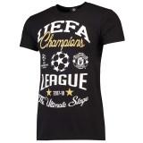 マンチェスター・ユナイテッド UEFA チャンピオンズ リーグ アルティメイト ステージ Tシャツ - ブラック - 男性用