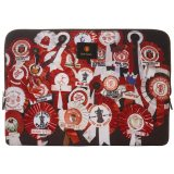 Manchester United x Paul Smith - 'Vintage Rosette' Print 13 Laptop Case