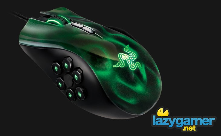 Razer Naga Hex Top-Left View