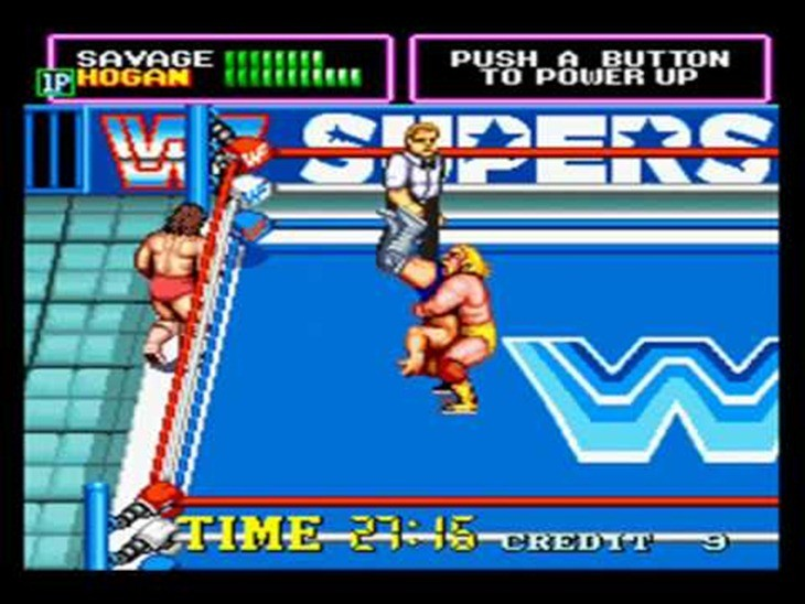 WWF superstars 1989 video game