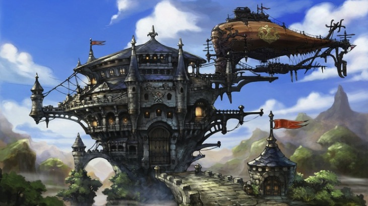 Bravely default airship