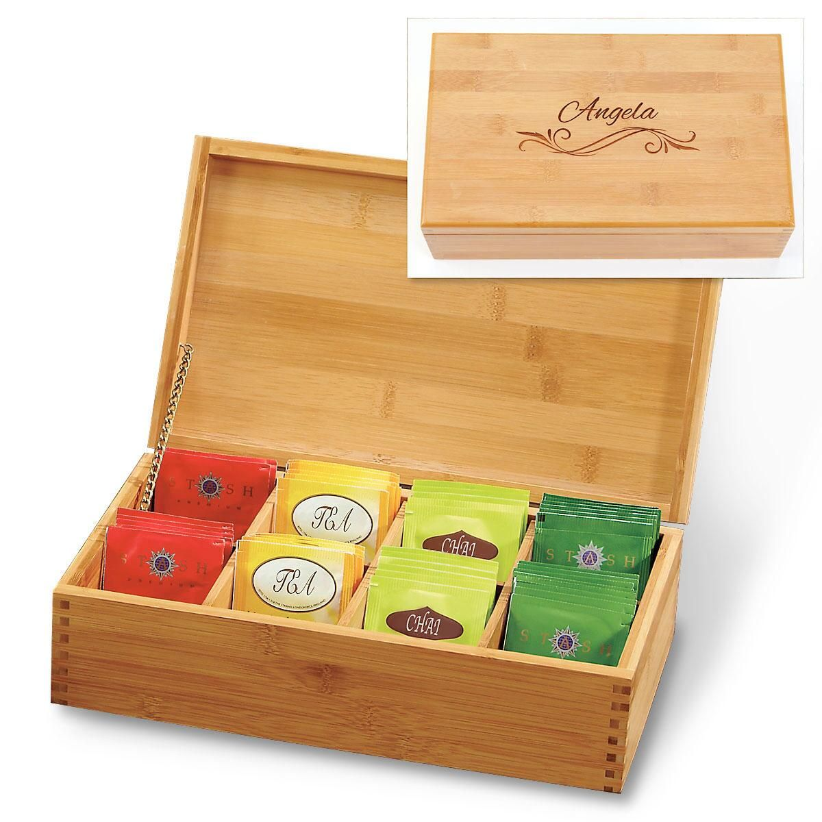 Fullsize Of Wooden Tea Box