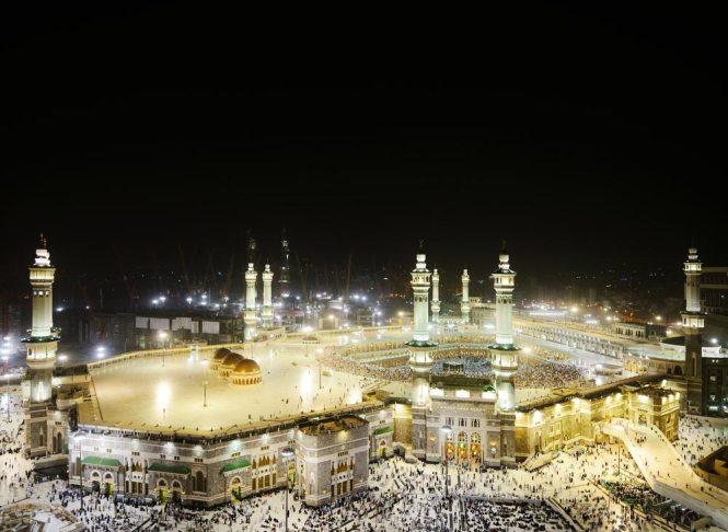 Masjid al-Haram at Mecca