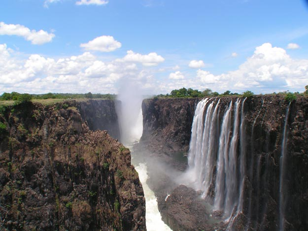 Victoria falls - The largest Waterfall