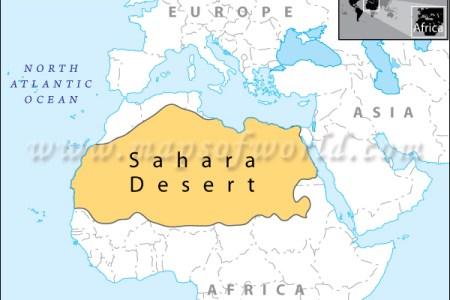 Map showing deserts desert map worlddesertmap sahara desert location map world gumiabroncs Image collections