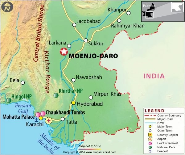 Mohenjo Daro Location Map; F8dd899de85a8eb6d4f33887f91550d7 ...